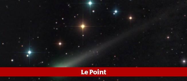 La comète Ison telle qu'observée le 27 octobre dernier.