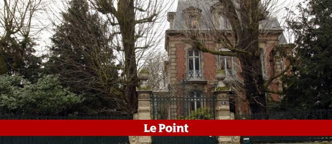 La demeure des Le Pen à Saint-Cloud.