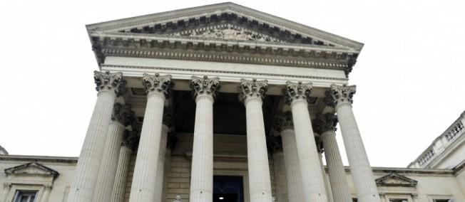 Le tribunal de grande instance de Montpellier.