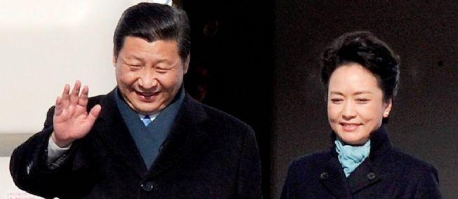 Le président Xi Jinping et son épouse Peng Liyuan font l'objet d'un culte de la personnalité grandissant en Chine.