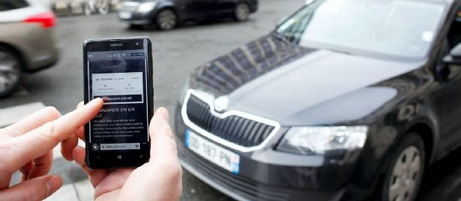 Le service UberPOP met en relation des particuliers pour faire du covoiturage sur des petites distances.