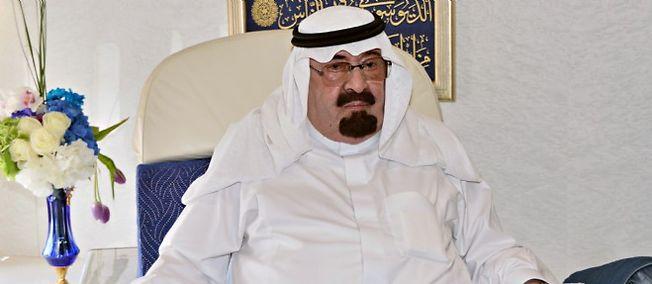 Le roi Abdallah, ici en juin 2014, est mort. Il avait été hospitalisé fin décembre pour une pneumonie.