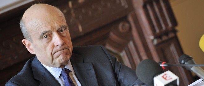 Alain Juppé à la mairie de Bordeaux, le 2 mars.