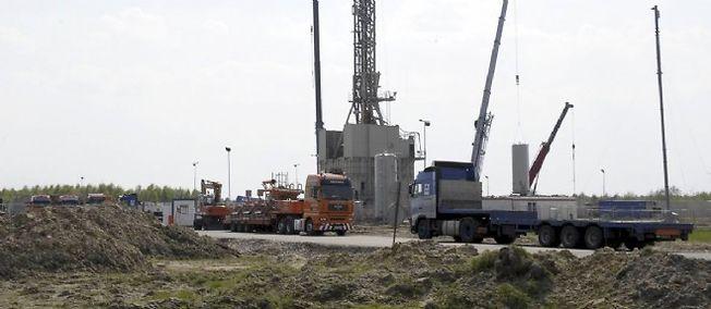 Une exploration de gaz de schiste en Pologne. Photo d'illustration.