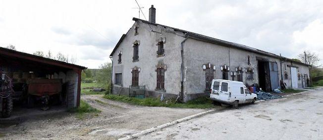 La maison du suspect, à Montzéville (Meuse).