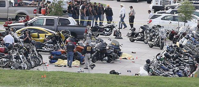 La fusillade a éclaté sur un parking de Waco (Texas).