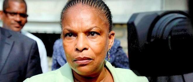 La ministre de la Justice Christiane Taubira.