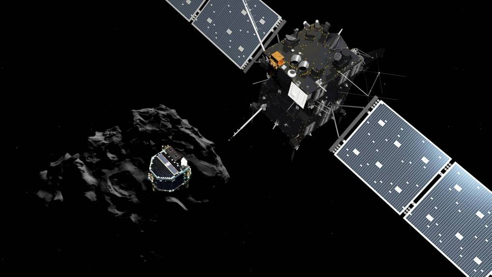 SPACE-EUROPE-ASTRONOMY-COMET-SEPARATE © -