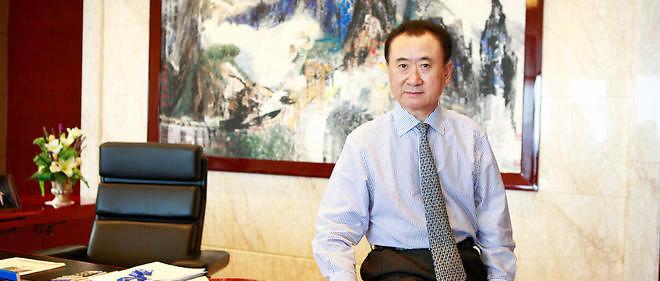 Le magnat de l'immobilier et de l'industrie du divertissement Wang Jianlin.