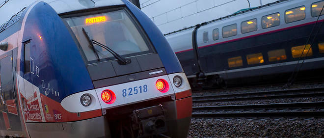 Une controleuse surprise en train de fumer dans un TER. (photo d'illustration)