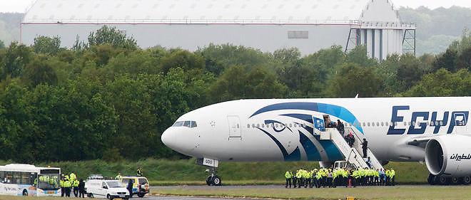 Un Boeing 777 d'EgyptAir. Image d'illustration.