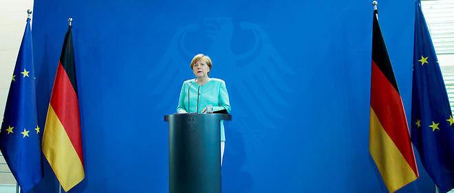 Angela Merkel fait preuve de fermeté. Image d'illustration.