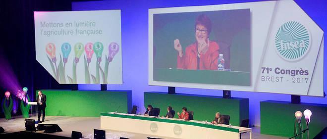 Christiane Lambert assure la présidence de la FNSEA depuis la mort de Xavier Beulin.