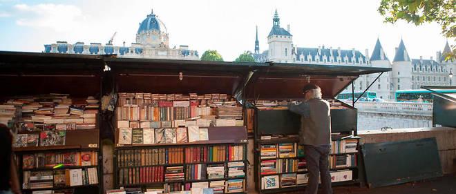 Les bouquinistes sont les seuls à ne pas payer de loyer à la mairie de Paris.
