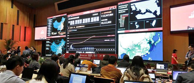 Les Chinois se sont rués sur les soldes proposés par Alibaba.