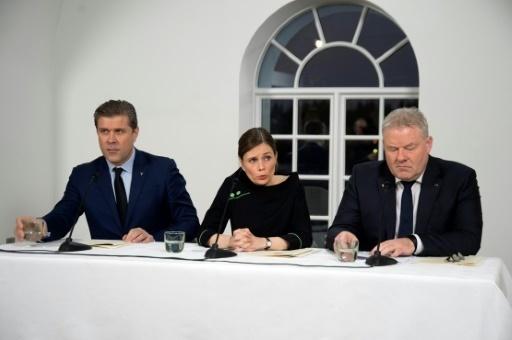 L'Islande se dote d'un nouveau gouvernement