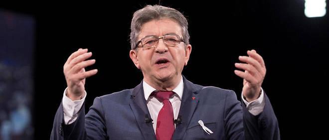 Jean-Luc Mélenchon en novembre 2017.
