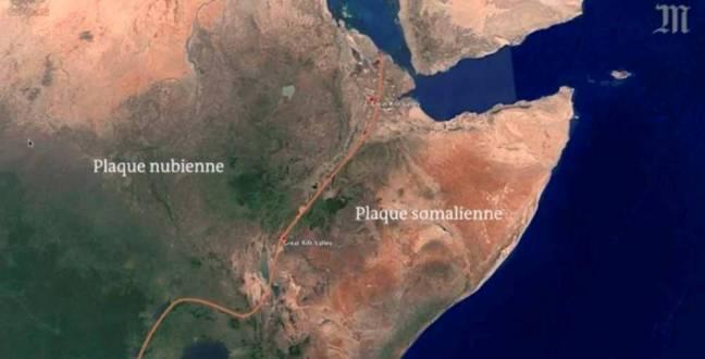 La faille sismique sur plus de 6 000 km dans la Corne d'Afrique © Le Monde Le Monde