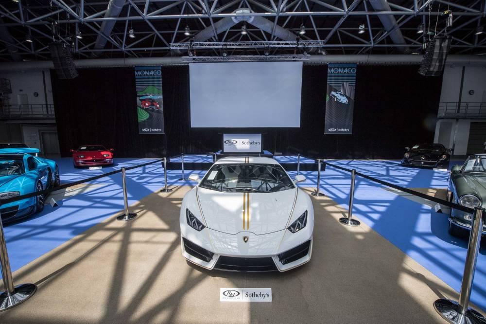 La Lamborghini papale s'est envolée au feu des enchères ©  Lamborghini