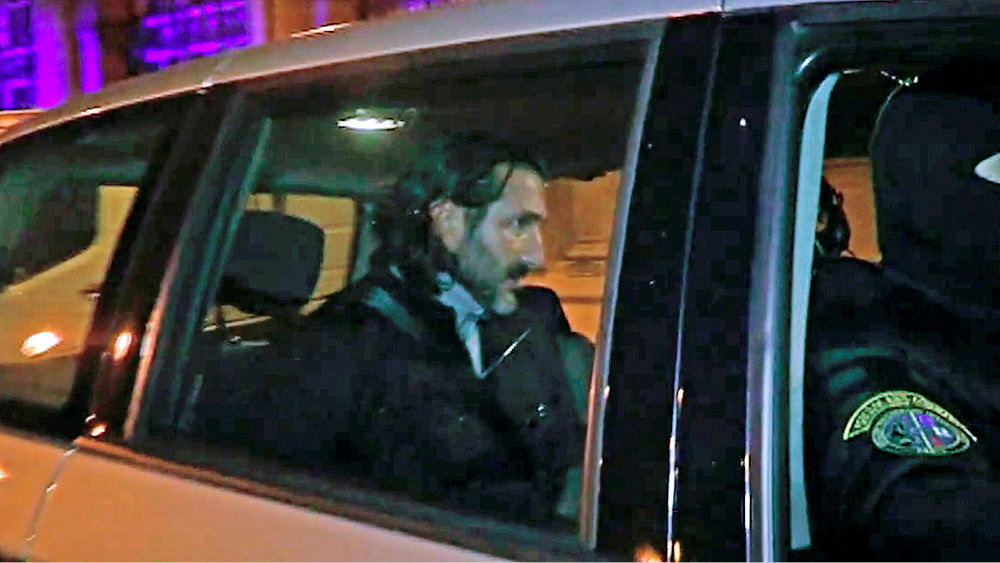 Jean-Luc Germani est arrete, le 27 novembre 2014, en region parisienne.
