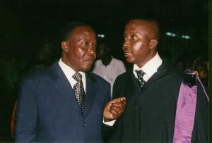 L'ex-ministre Franck Sahi Guéi, fils aîné du défunt général Robert Guéi (Ph: Dr).