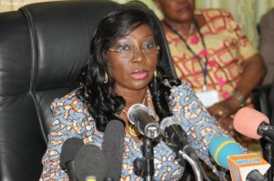 Kandia Camara, ministre de l'Education Nationale (Ph: Dr)