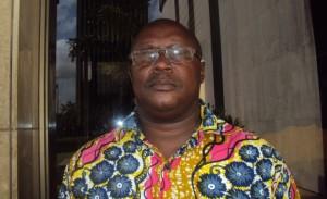Le secrétaire Général Meney Kaman Georges (Ph: Dr)