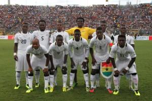Les Black Star du Ghana (Ph: Dr)