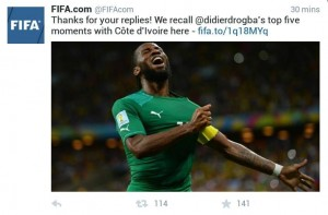 L'international ivoirien, Didier Drogba a mis fin à sa carrière internationale (Ph: Dr)