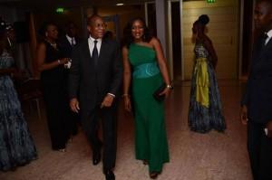 Le couple, Bruno Nabagné Koné (Ph: Dr)