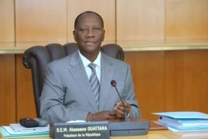 Le Chef  de l`Etat, SEM Alassane OUATTARA (Ph: Dr)