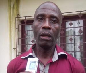 Boyou Boniface, président de l'association des électeurs de Côte d'Ivoire
