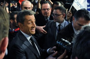 Nicolas Sarkozy, à Paris, Le 15 novembre. (photo Dominique Faget. AFP)