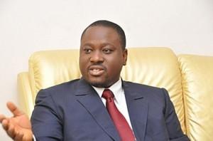 Guillaume Kigbafory Soro, le Président de l'Assemblée Nationale a été choisi par les fidèles de l'Eglise harriste pour parrainer leur double cérémonie à Oumé.