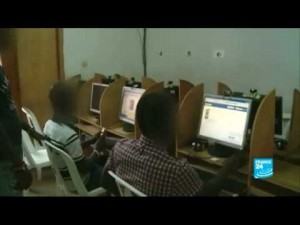 """Les cybercafés sont les lieux de prédilection des """"brouteurs''"""