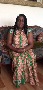 Maguy la présidente du Réseau des femmes-UK