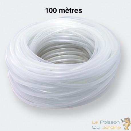 100 metres de tuyau 4 6 mm pour pompe a air aquarium et bassin