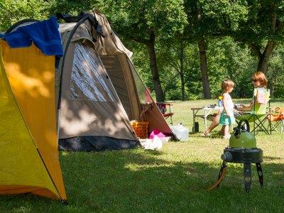 Ein Familien-Campingplatz