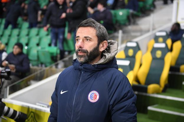 Nicolas Usaï n'est plus le coach de Châteauroux (S.Mantey/L'Équipe)