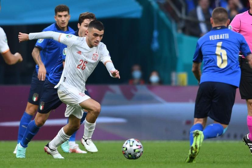 «comme en 18», titre l'equipe ce mercredi matin, au lendemain de la. Eblouissant A L Euro Avec L Espagne Pedri Est Deja Grand A 18 Ans L Equipe