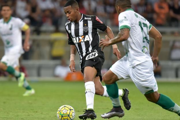 Robinho ne joue plus pour Santos. (André Yanckous/Presse Sports)