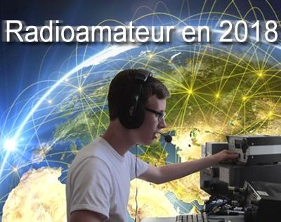 radioamateur en 2018