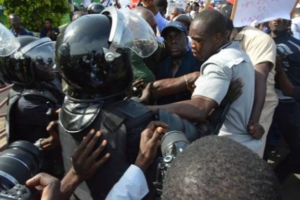 Le coordonnateur de la coalition Mànkoo Wattu Senegal, Malick Gakou