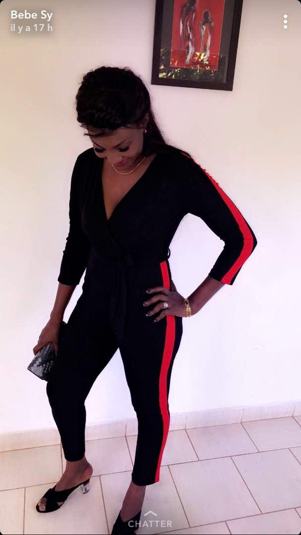 (Photos)- Carnet blanc: L'actrice Bébé Sy trouve chaussure à son pied