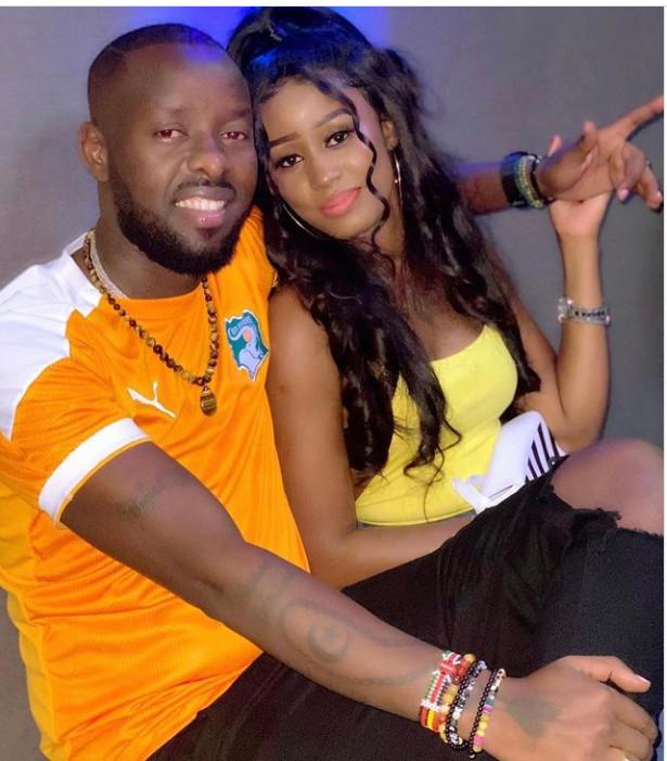 Photos - Ces clichés de Queen Bizz avec l'artiste ougandais Eddy Kenzo, font polémique