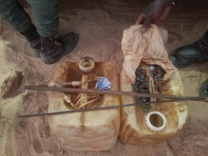 Violentes manifestations à Dougar: Ce type de projectiles désormais prisés par les sénégalais (photos)