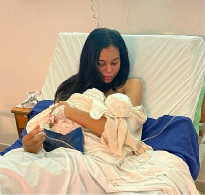Léa Soukeyna Ndiaye a accouché: Elle est maman d'une princesse (Photos)