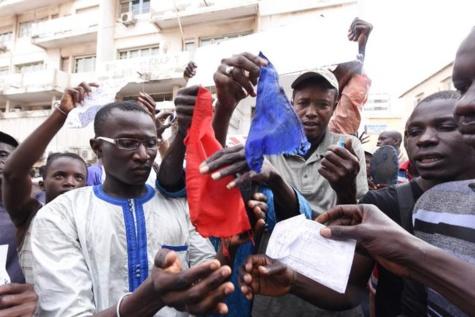 Manif contre « Charlie Hebdo » : Des musulmans sénégalais dans la rue pour protester contre les caricatures du prophète