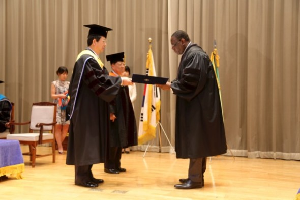 Macky Sall, docteur honoris causa de l'université nationale de Pukyong, en Corée du Sud ( Photos )