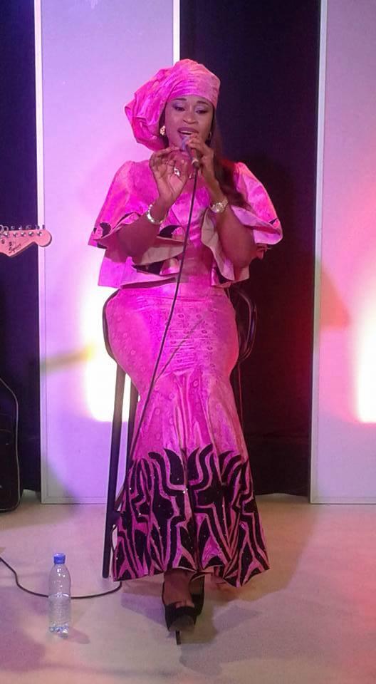 Aïda Samb a illuminé le « Quartier Général »